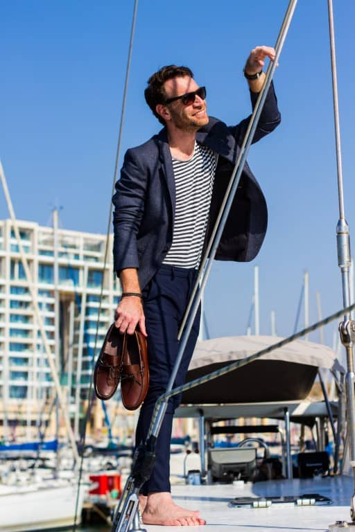 חולצת פסים מנצחת מתוך הבלוג של הסטייליסטית לגברים אושרת אורן